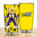 Fierce Ultra Super Saiyan Future Trunks Dragon Ball Kai Tumbler