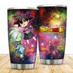 Dragon Ball Super Cool Chibi Zamasu and Goku Black Tumbler