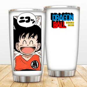 Happy Smiling Son Goku Manga Panel Dragon Ball Z Tumbler