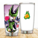 Cute Chibi Perfect Cell And Cell Juniors Art DBZ Tumbler