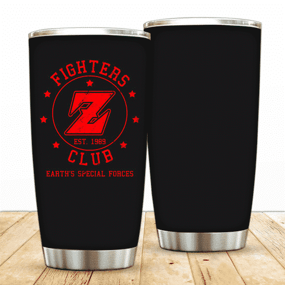 DBZ Powerful Fighter Z Club Earth's Special Forces Tumbler