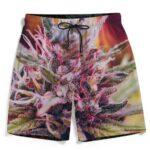 Top Shelf Marijuana Weed Plant 420 Dope Men's Beach Shorts
