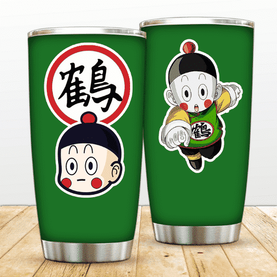 Cute Chioatzu Head and Kanji Dragon Ball Z Awesome Tumbler