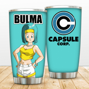 Bulma Capsule Corporation Dragon Ball Z Cool Awesome Tumbler