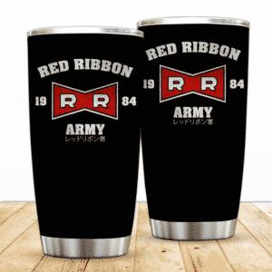 Red Ribbon Army Logo Dragon Ball Z Awesome Powerful Tumbler