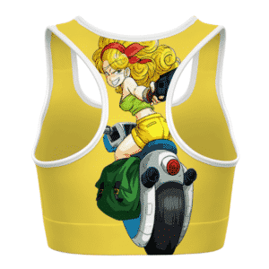 Launch Bad Girl Side Dragon Ball Z Cute Awesome Sports Bra
