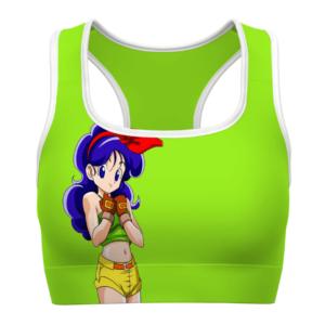 Launch Good Girl Side Dragon Ball Z Cute Awesome Sports Bra