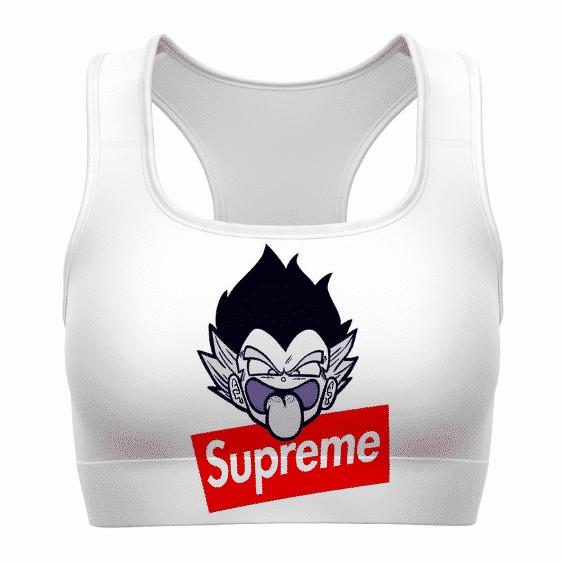Supreme Gotenks Dragon Ball Z White Cool Awesome Sports Bra