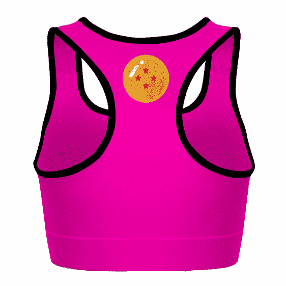 Trunks and Goten Dragon Ball Z Pink Cool Awesome Sports Bra