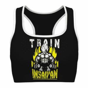SSJ Vegeta Train Insaiyan Dragon Ball Z Powerful Sports Bra