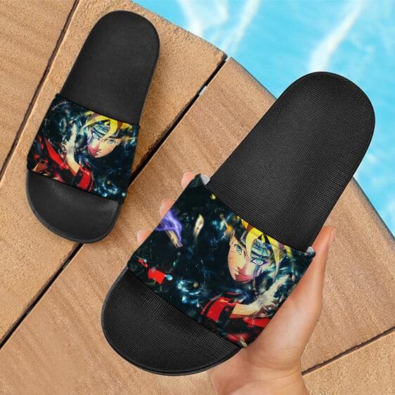 Uzumaki Boruto Jougan Fantastic Design Slide Sandals