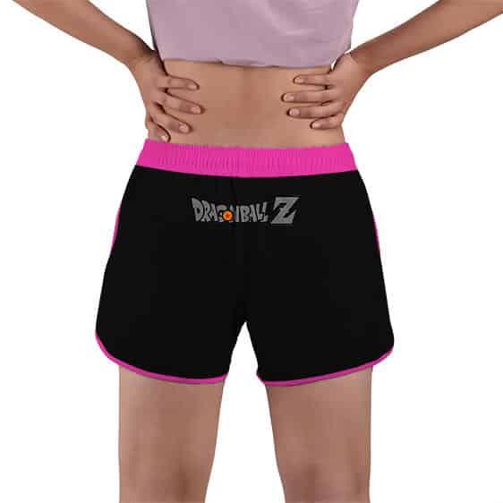 Vegeta 80's Vintage Style Icon DBZ Women's Beach Shorts