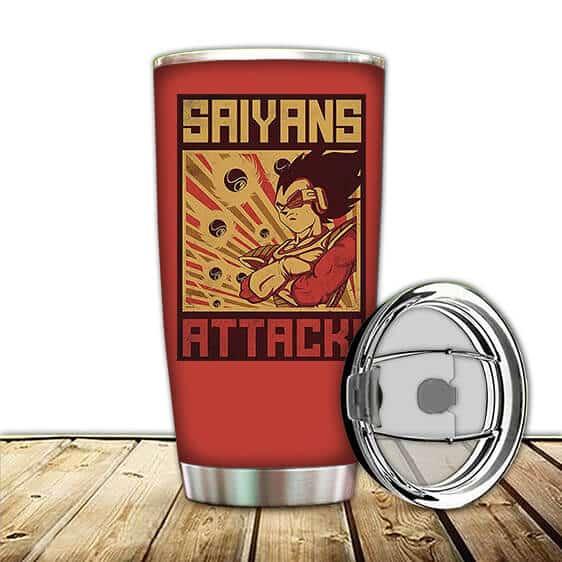 Vegeta Armor Saiyans Attack Dragon Ball Z Awesome Tumbler
