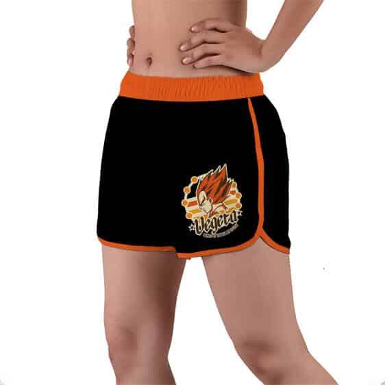 Vegeta The Prince Of All Saiyans DBZ Women's Beach Shorts