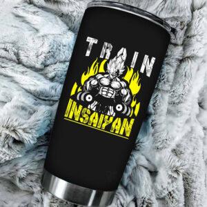 Vegeta Train Insaiyan Dragon Ball Z Cool and Fierce Tumbler