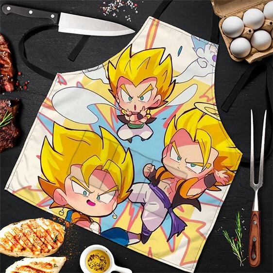 Vegito Gogeta and Gotenks Dragon Ball Super Powerful Apron