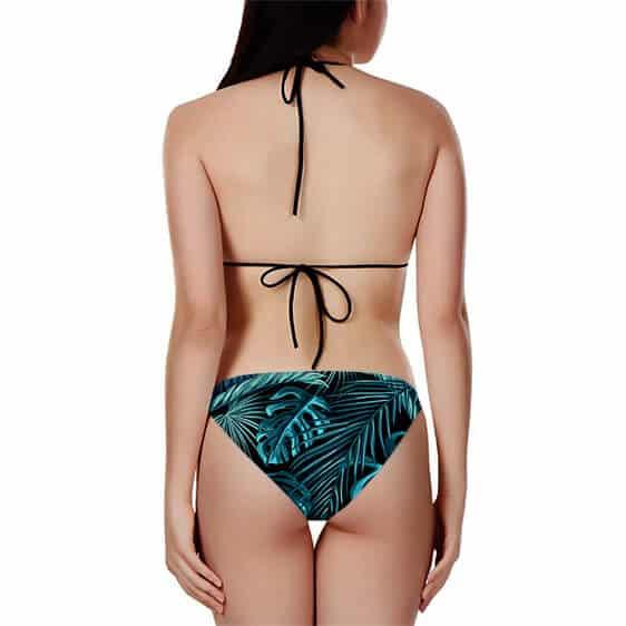 Vegito Super Saiyan Blue Minimalist Breezy Two Piece Bikini