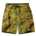 Weed Top Shelf Quality Nugs Marijuana Wonderful Beach Shorts