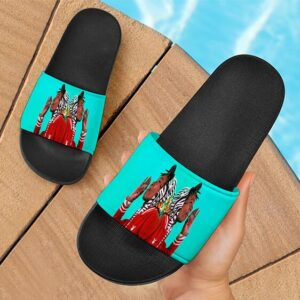 Wiz Khalifa Smokes Blunt Mirror Art Cannabis Slide Footwear