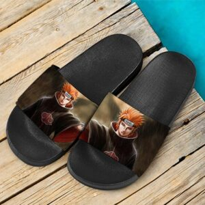 Yahiko Six Paths of Pain Akatsuki Awesome Slide Sandals