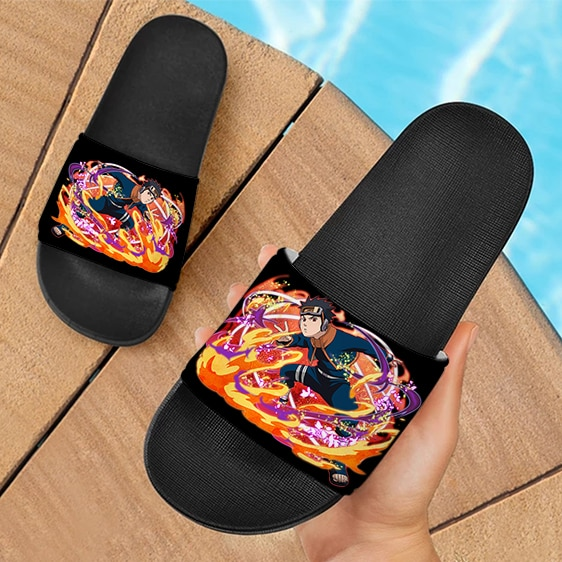 Young Obito Ultimate Ninja Blazing Art Dope Slide Footwear
