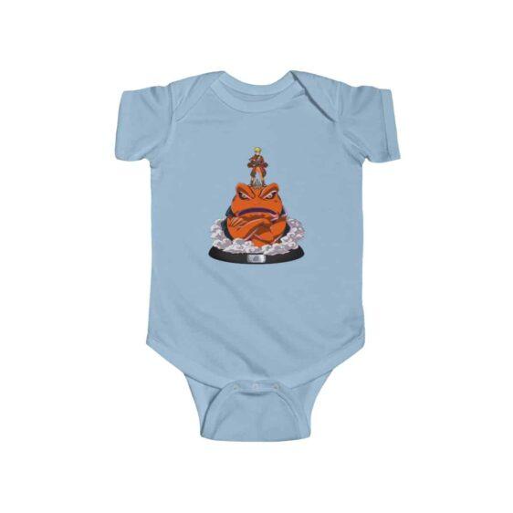 Sage Mode Naruto With Gamakichi Awesome Baby Bodysuit