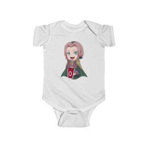 Jolly Sakura Haruno Of Leaf Village Cute Naruto Baby Bodysuit
