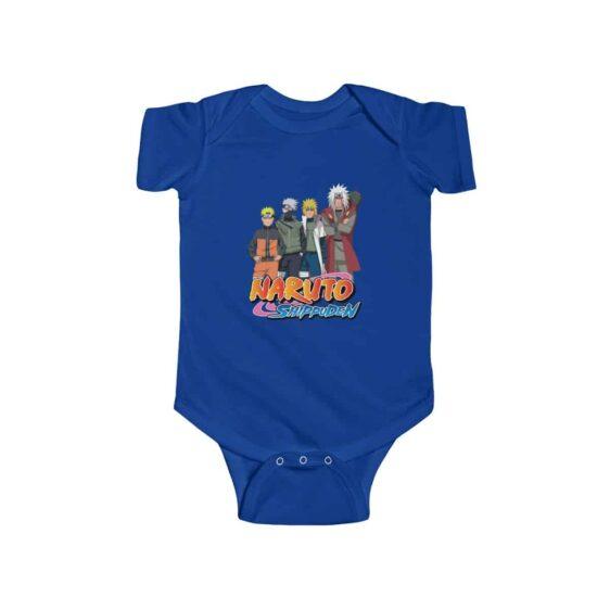 Naruto Kakashi Minato and Jiraiya Dope Infant Bodysuit