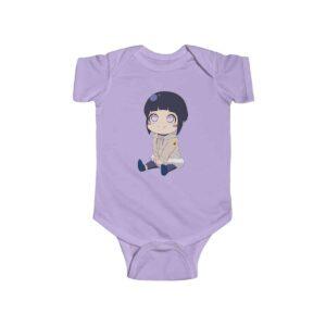 Smiling Chibi Hinata Hyuga Lovely Naruto Infant Onesie