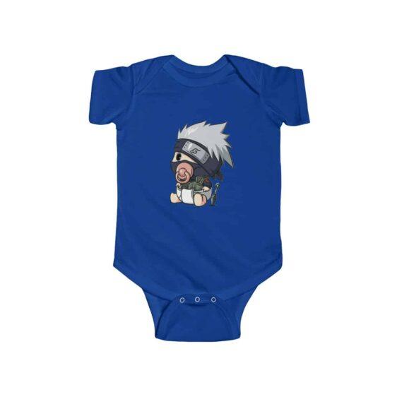 Chibi Copy Ninja Kakashi Hatake Lovely Naruto Infant Onesie