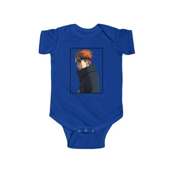 Nagato Tendo Pain Side View Badass Naruto Baby Bodysuit