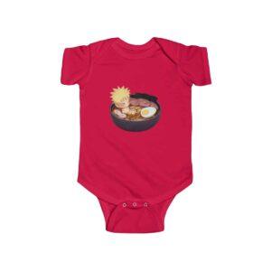 Baby Naruto Enjoying Ramen Noodles Lovely Infant Onesie