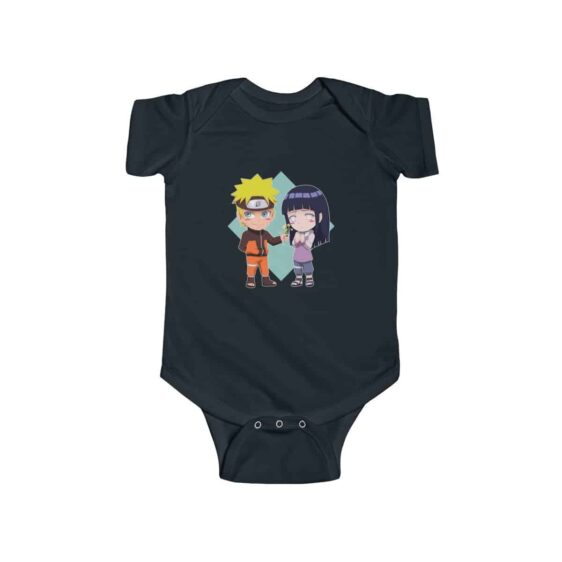 Naruto Giving Flowers To Hinata Lovely Baby Toddler Onesie