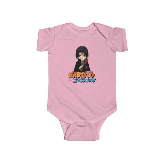 Serious Look Itachi Uchiha Stylish Naruto Infant Onesie