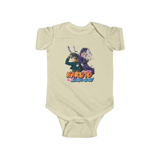 Young and Adult Obito Uchiha Awesome Naruto Infant Bodysuit