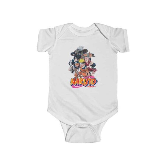 Naruto Shonen Jump Kid Naruto and Friends Baby Bodysuit