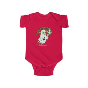 High Spirits Ghost Smoking Marijuana Lovely 420 Baby Clothes