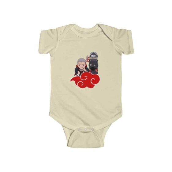 Akatsuki Duo Hidan and Kakuzu Cool Naruto Baby Toddler Onesie