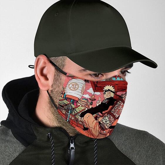 Amazing Naruto Art Work At Leaf Village Cool Ninja Face Mask