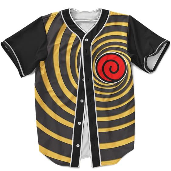 Awesome Baseball Jersey Uzumaki Naruto Spiral Kurama Mode