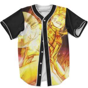 Awesome Kurama Mode Uzumaki Naruto Dope MLB Baseball Uniform