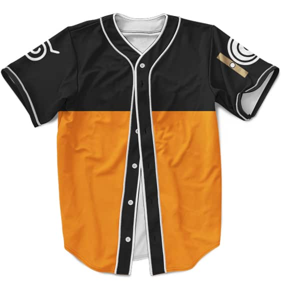 Awesome Uzumaki Naruto Themed MLB Baseball Jersey Costume