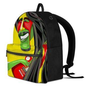 Rasta Man Awesome Paint Art Zion Colors Cool Hemp Rucksack