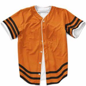 Hokage Naruto Uzumaki Cosplay Cool Orange Baseball Shirt