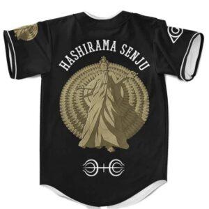 Amazing Hashirama Senju Esports Inspired Black Baseball Uniform
