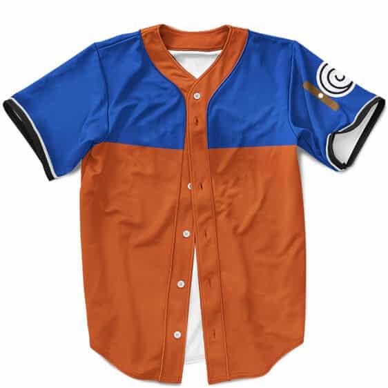 Young Naruto Uzumaki Vintage Cosplay Design MLB Baseball Shirt
