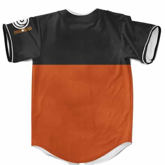 Classic Teen Uzumaki Naruto Shippuden Cosplay Baseball Jersey