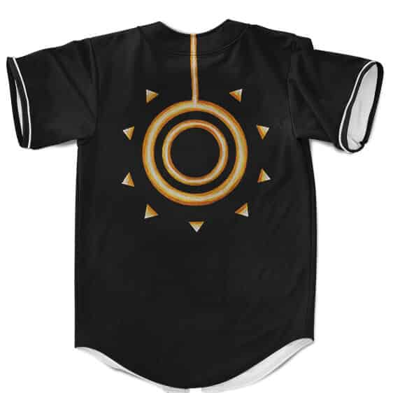 Naruto Uzumaki Sage of Six Paths Mode Cosplay Baseball Uniform