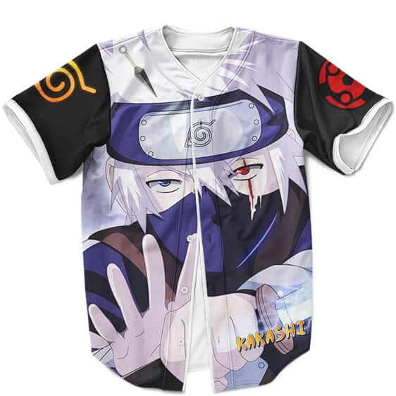 Kakashi Hatake The Child Prodigy Awesome MLB Baseball Jersey