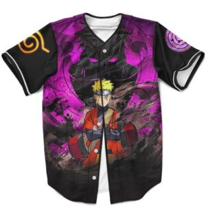 Naruto Uzumaki Sage Mode Versus Yahiko Pain Baseball Jersey